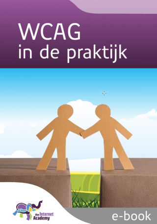 Omslag van 'WCAG in de praktijk'