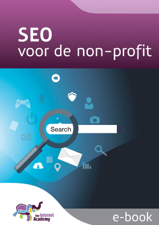 Omslag van 'SEO voor de non-profit'