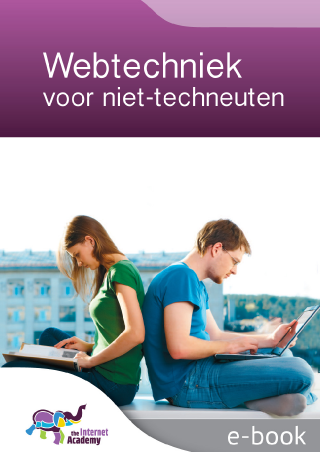 Omslag van 'Webtechniek voor niet-techneuten'